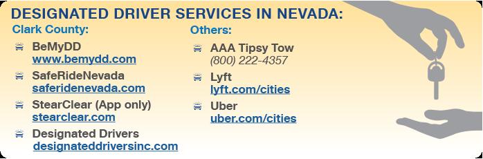 Designated Driver Services Nevada