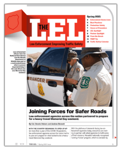 Law Enforcement Improving Traffic Safety Newsletter Cover